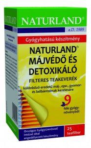 Naturland májvédő és detoxikáló teakeverék