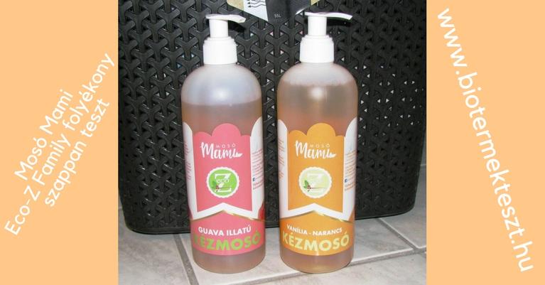 Eco-Z Family folyékony szappanok