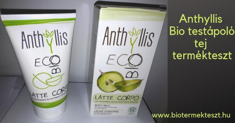 Anthyllis Bio testápoló tej