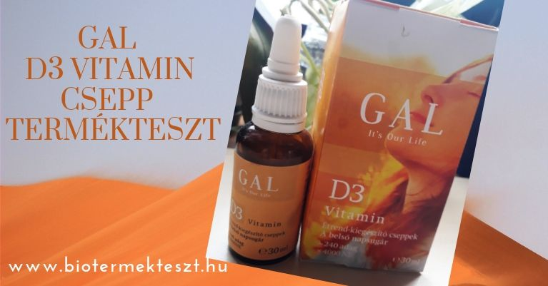 GAL D3-Vitamin csepp