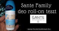 Sante Family alumíniummentes golyós dezodor